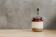 Digestives mit Joghurt & Himbeeren