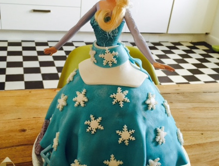 Geburtstag: FROZEN gluten free!