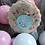 Thumbnail: Einhorn Cookie weiß