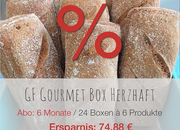 GF Gourmet Box herzhaft / 6M / Ersparnis: 74.88 €