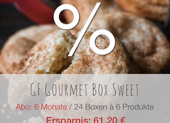 GF Gourmet Box Sweet / 6M / Ersparnis: 61.20 €