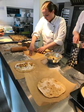 Pizza & Wrap Baking Class