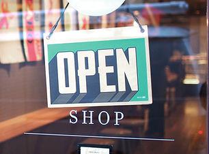 Ouvert pour les affaires