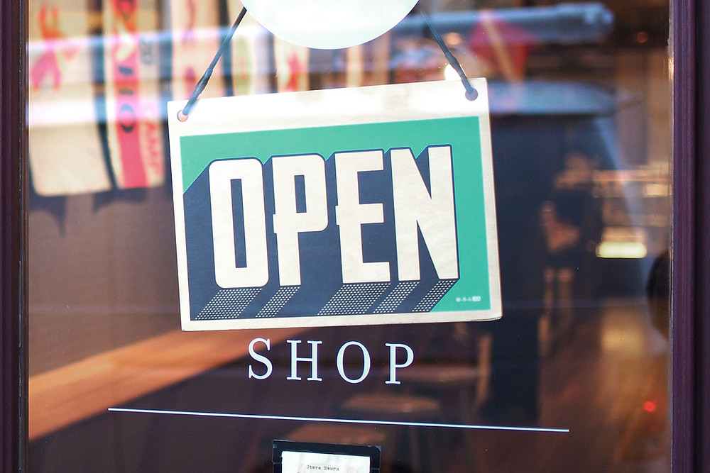 Open Shop Sign