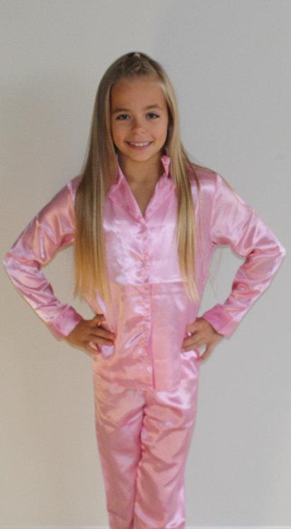Long Sleeve Pyjamas 'Gymnast with big dreams'