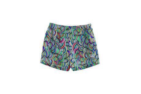 Yarn Fashion Print Shorts