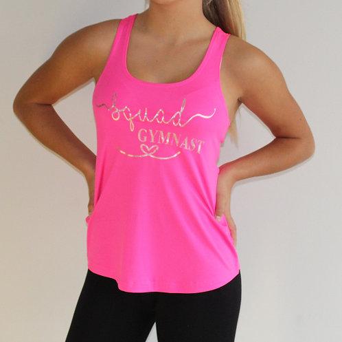 Girls Fashion 'Squad Gymnast' Workout Vest
