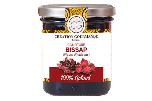 Confiture Bissap (Fleur d'hibiscus), 200G