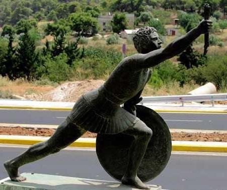 Φειδιππίδης - Ο πρώτος Μαραθωνοδρόμος