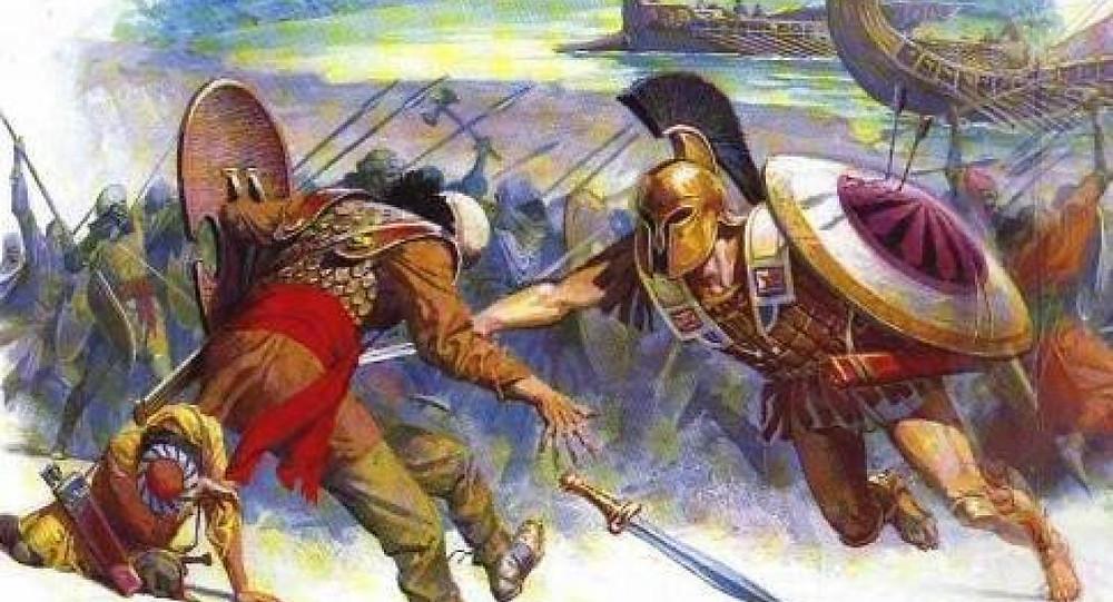 μάχη του μαραθώνα