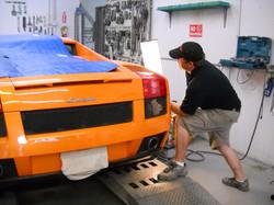 Lamborghini Paintless Dent Repair