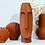 Vase Visage en céramique couleur terracotta rouge fleurs à poser original Opjet Moodbox