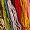 laine rose vert rouge orange jaune pour tapis berbère beni ouarain marocain fait main Moodbox