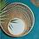 Miroir BOISE bambou cercle SEMA Design Moodbox