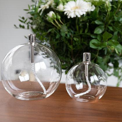 lampe à huile sphère bazar de luxe paraffine moodbox