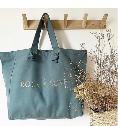 Cabas Lily Eucalyptus  - Rock and Love