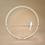 Thumbnail: Lampe cercle en bois  personnalisable et hirondelle en porcelaine