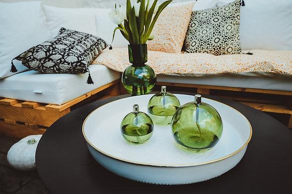 Lampe à huile Sphère Green