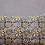 Coussin Keva Nimbu à fleurs tissu indien blockprint fait main Inde Kirane Moodbox