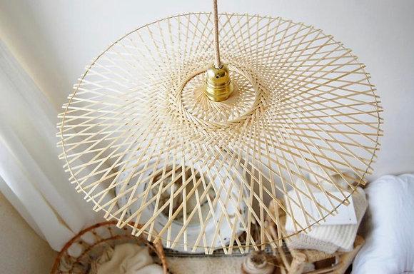 Suspension Papillon bambou rotin Bazar de luxe Moodbox