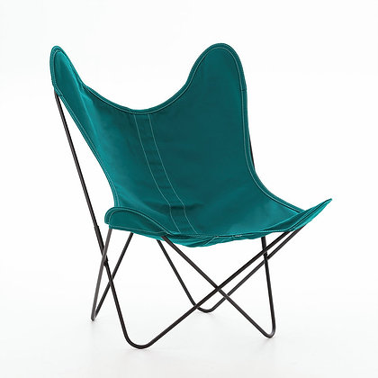 fauteuil AA coton indoor original Butterfly bleu Airborne Moodbox