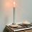 Bougeoir photophore chandelier chauffe plat 2 en 1 RECTO VERSO bois de hêtre Anso Design Moodbox