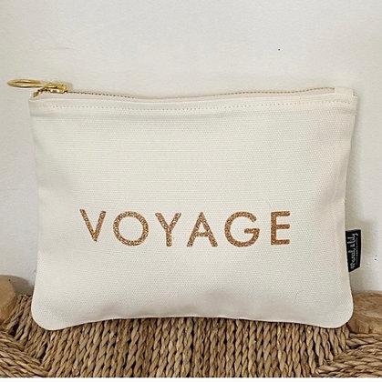 Trousse -Blanc Milk - Voyage