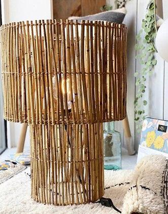 Lampe Bambou Bazar de luxe Moodbox