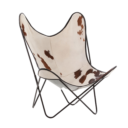 fauteuil AA peau de vache indoor original Butterfly Airborne Moodbox