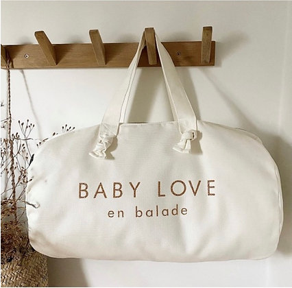 Sac polochon milk - Baby Love en Balade -