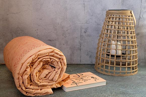Plaid imprimé coton Brindilles Constelle Home