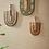 Décoration murale ORO herbier paille orange vert noir exotique SEMA Design Moodbox