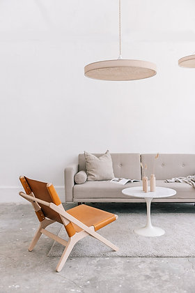 fauteuil H cuir hêtre Anso Design Moodbox