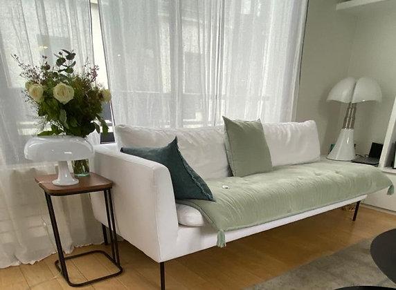 Sofa cover en velours