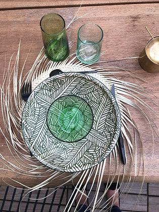 Assiette Bambou