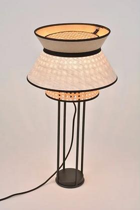 Lampe à poser Singapour Nude cannage Market Set Moodbox