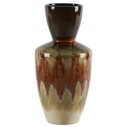 Vase décoratif en céramique Volcano Orange Athezza Moodbox