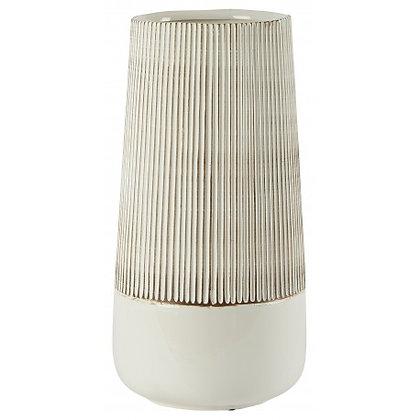 Vase Bila céramique blanc Athezza Moodbox