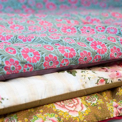 Sofa cover en coton imprimé