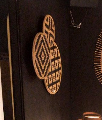 Décoration murale bambou et fer cercles nature motifs géométriques SEMA Design Moodbox