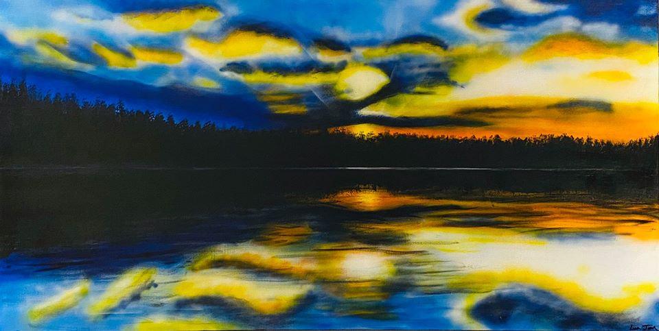 Sunset on Harstine Island