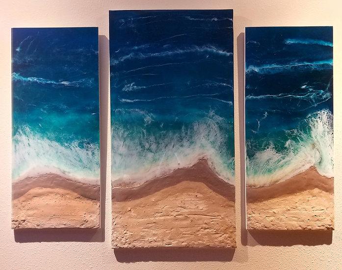A Triptych Ocean