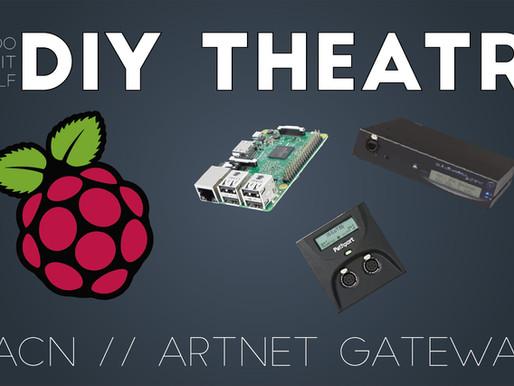 Raspberry Pi as sACN or Artnet Gateway