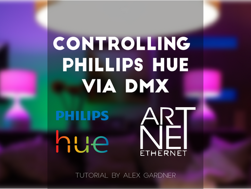 Control Phillips Hue Via DMX