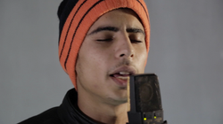 Abdullah. Singer, darbuka