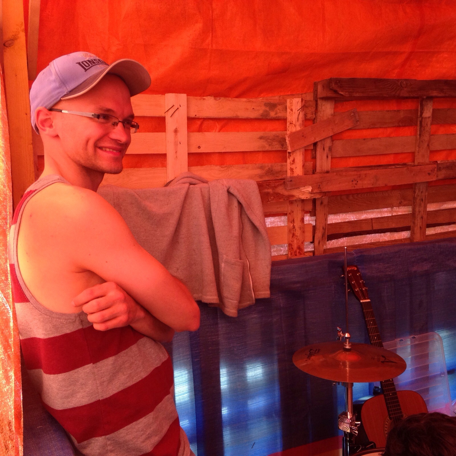Pete. Drummer
