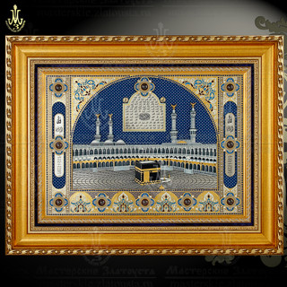 "Decorated Panel ""Kaaba"""