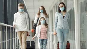 Algumas companhias estão exigindo o uso de máscaras cirúrgicas ao invés das de tecido