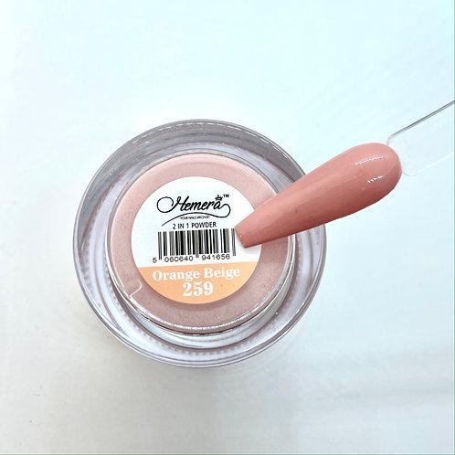 259. Orange Beige -  Dipping Powder