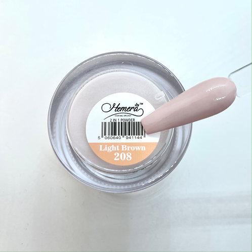 208. Light Brown - Dipping Powder